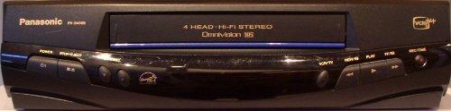 Panasonic PV-8455S 4-Head VHS Hi-Fi Stereo VCR Videocassette Recorder