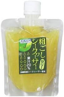 粗ごしシークヮーサーゼリー 175g×6P 沖縄物産企業連合 沖縄県産 酸味のある 青切り 収穫 シークヮーサー内果皮入り