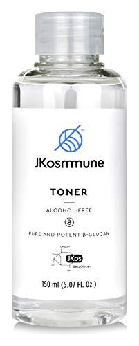 Facial Toner, Alcohol-Free, Korean Skincare Formulated with Beta Glucan, Helps Refresh, Hydrate and Brighten Skin