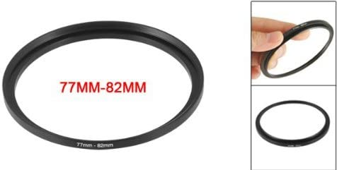 NA 77mm to 82mm Elevator Filter Ring Adapter for Camera Lens