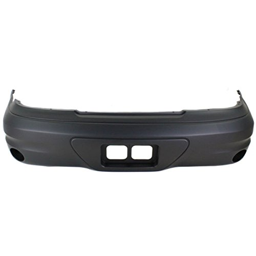 Partomotive For 03-05 Grand AM SE Rear Bumper Cover Assembly Primed Plastic GM1100664 12335582