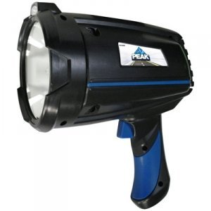 Peak 2.5 Million Candlepower Rechargeable Spotlight With ...