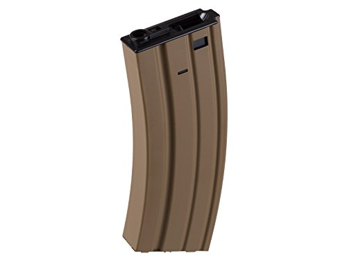 FN SCAR-L AEG Hi-Cap Airsoft Rifle Magazine, 450 Rds, Tan by FN Herstal