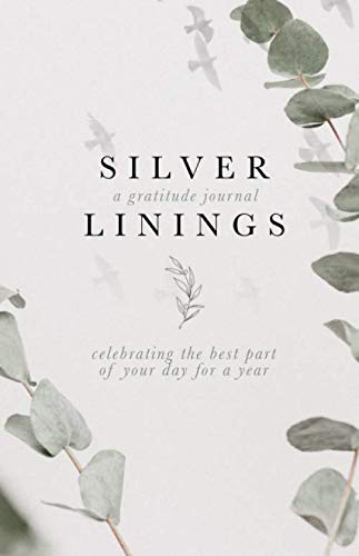 Silver Linings: A Gratitude Journal - Celebrating the best part of your day for a year.