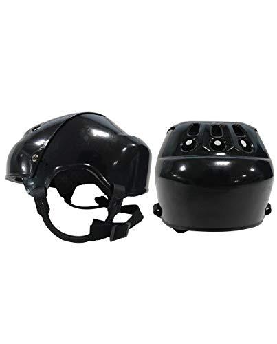 DK Vintage Style Hockey Helmet (Black)