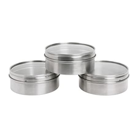 IKEA Grundtal Magnetic Stainless Steel Containers/Spice Tins, 3 Pack