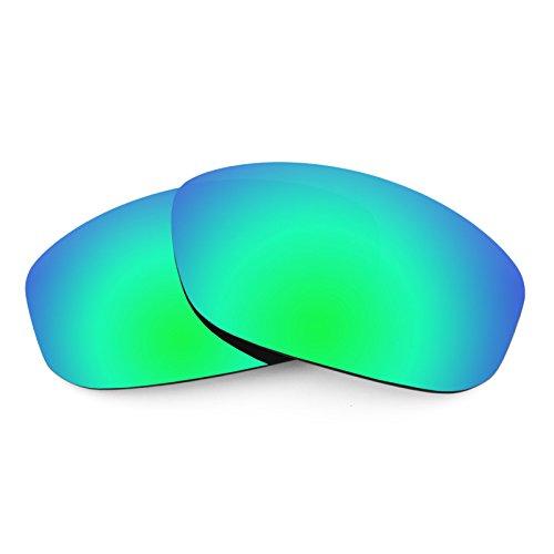 Verres de rechange pour Arnette Freezer AN4155 — Plusieurs options Polarisés Elite Rogue Vert MirrorShield®