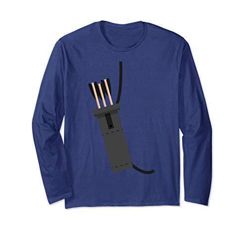 Archer Costume Halloween Tshirt - Funny Archery Arrow Gift ()