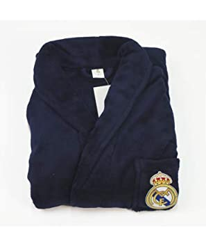 10XDIEZ Bata Real Madrid 306M Azul Marino - Medidas Albornoces/Batas Adulto - XXL (Super Super Grande): Amazon.es: Hogar