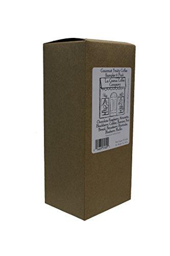 La Crema Coffee Gourmet Fruity Coffee 6 Piece Sampler Pack