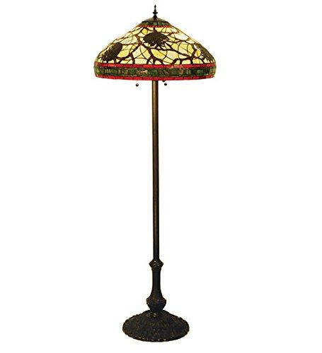 Dragonfly Cone Floor Lamp - 4