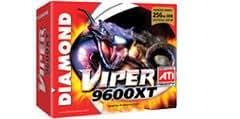 Diamond Viper ATI Radeon 9600XT 256 MB DDR Cinematic 2D/3D Graphics Card (V9600XT256)