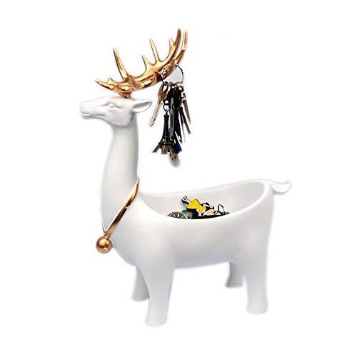 Jumedy Creativo Auspicioso Lucky Art Decoration - Modern Minimalist Porch Storage Key Box, Ornamentos Decorativos nórdicos...