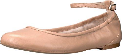 Sam Edelman Women's Fynn Nude Linen Patent Flat