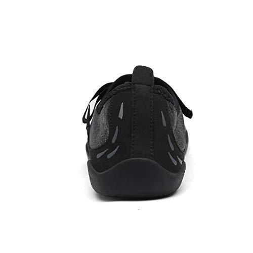 Damen Outdoor Sport 36 Barfußschuhe Trekking Schuhe Fitnessschuhe Schwarz Ultraleicht Aquaschuhe 46 Herren Rutschfest b Dreamshow 15aUn5