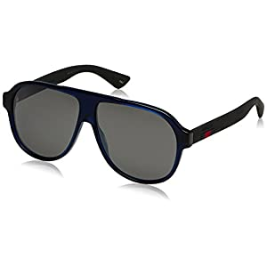 Gucci Fashion Sunglasses Blue/Mirror