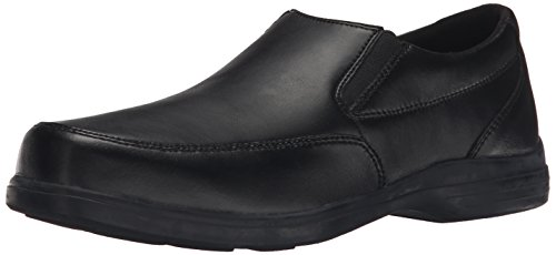 Hush Puppies Shane Uniform Dress Shoe (Toddler/Little Kid/Big Kid), Black, 13.5 W US Little ()