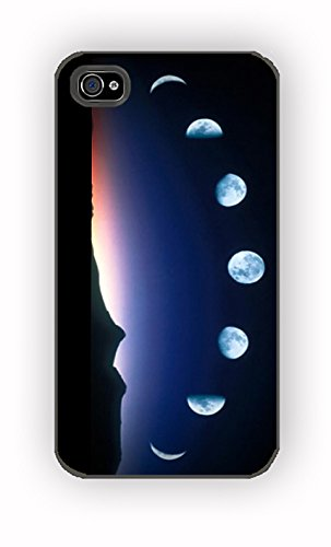 moon phases lunar phases for iPhone 4/4S Case