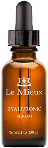 Le Mieux Hyaluronic Serum - Concentrated Facial Moisture Complex for Intense Hydration (1 Ounce, 30 Milliliters)