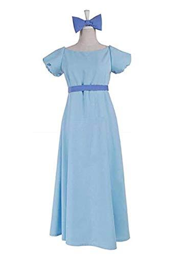 LDamcom Womens Princess Dress Halloween Peter Pan Wendy's -