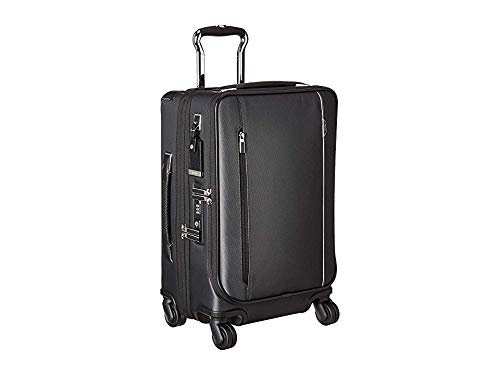 (Tumi Men's Arriv¿ International Dual Access 4 Wheeled Carry-On Pewter One Size)