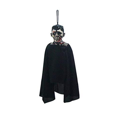 (Party Diy Decorations - 1pc Scary Halloween Zombie Ghost Hanging Decor Indoor Outdoor Diy Party Decoration Mischief Prop - Skull Halloween Ghost Baby Latex Pendant Gothic Pumpkin Costum)