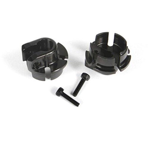 Axial AX31435 Aluminum Shock Spring Retainer, 12mm, Black