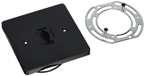 PLC Lighting TR136 BK Track Lighting One Circuit Accessories Collection, Black Finish