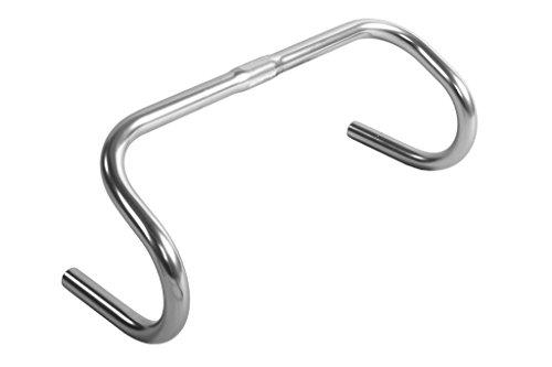 Handlebars Bike Track - Pure Fix 42cm Alloy Drop Handlebar,Silver