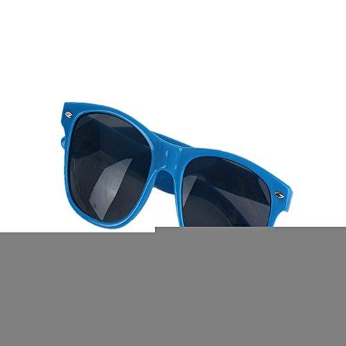 Price comparison product image ETOSELL Stylish Cool Baby Boys Girls Sunglasses Plastic Frame Goggles Dark Blue