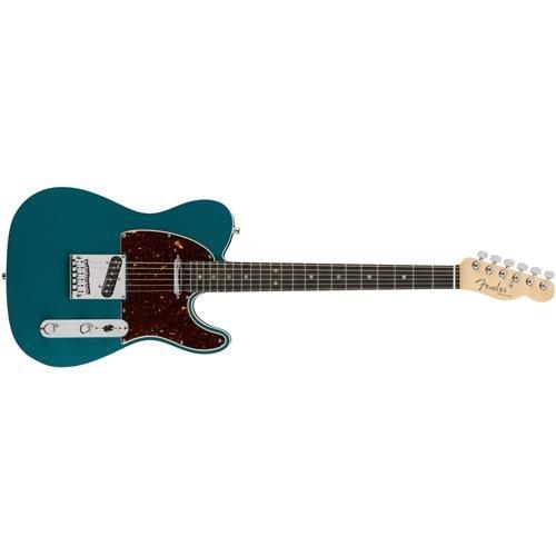 Fender American Elite Telecaster Ebony Fingerboard Electric Guitar Ocean - Fender Telecaster American Standard