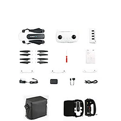 Hubsan Zino GPS 5.8G 1KM Foldable Arm FPV with 4K UHD Camera 3-Axis Gimbal RC Drone Quadcopter with Carrying case. by HUBSAN