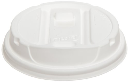 Dixie TP9542 Smart Top Reclosable Plastic Dome Lid for Dixie