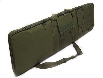 Swiss Arms Housse pour fusil//Long Sac de Chasse dArmes avec poches ext/érieures Noir 100/cm