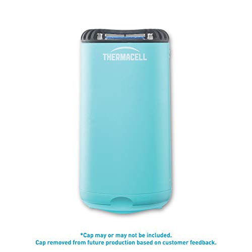 Thermacell Patio Shield Mosquito Repeller, Glacial Blue; Easy to Use, Highly Effective; Provides 12 Hours of DEET-Free Mosquito Repellent; Scent-Free, No Spray, No Smoke and Cordless (Best Outdoor Mosquito Repellent Reviews)