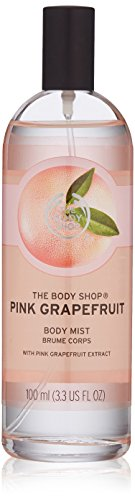 The Body Shop Body Mist, Pink Grapefruit, 3.3 Fluid Ounce (Packaging May Vary)