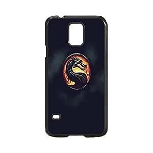 Mortal Kombat Logo Poster Case Durable Unique Design Hard Back Case Cover for Samsung Galaxy S5 I9600 (Regular) New