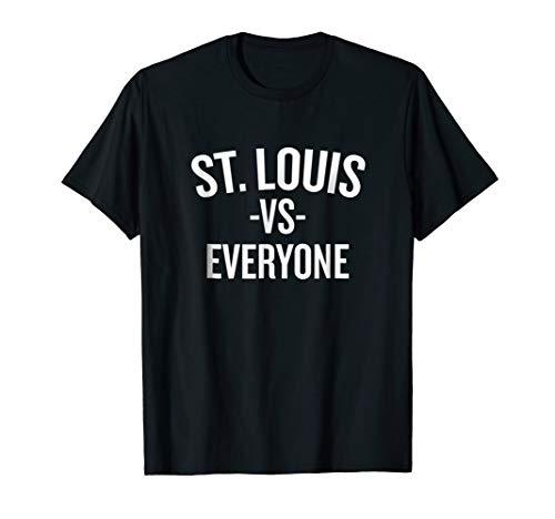 St. Louis Vs Everyone T-shirt Halloween Christmas Funny Cool