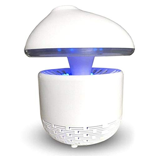 USB Powered Mosquito Killer Summer Mosquito Inhaler LED Insect Repeller Mosquito Killer Lamp Household Indoor Bug Zapper   White,