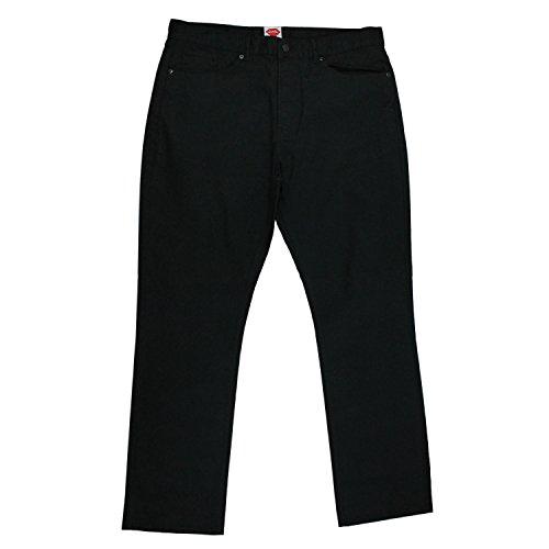 Chocolate Jean Black Denim (Chocolate Men's Chocolate x Diamond 5 Pocket Denim Pants 33W x 32L Black)