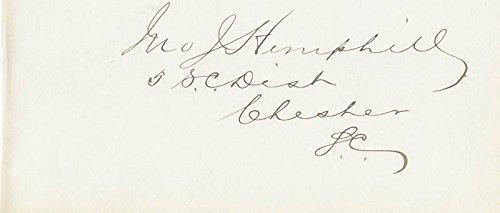 John J. Hemphill - Signature