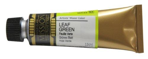 (Mijello Mission Gold Class Water Color, 15ml, Leaf Green)
