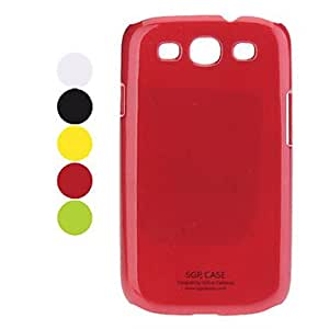 Durable Samsung Mobile Phone Back Covers for Galaxy S3/9300(5 Colors) --- COLOR:Black