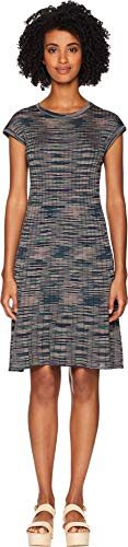 M Missoni Women's Ribbed Spacedye Dress, Navy, - Ribbed M Missoni