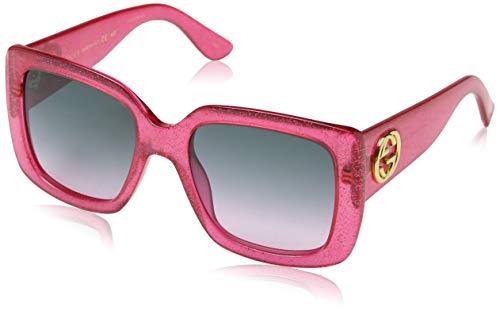 Sunglasses Gucci GG 0141 S- 003 PINK/GREY ()