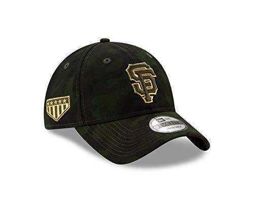 New Era San Francisco Giants 2019 MLB Armed Forces Day 9TWENTY Adjustable Hat - Camo (San Fran Giants Cap)