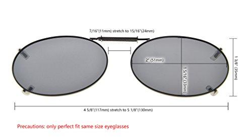 51 33MM de metallique Sur G15 polarisee Eyekepper Lunettes soleil monture 80ggwCq