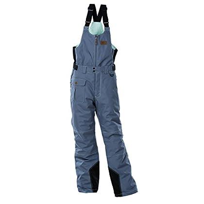 Image of Divas SnowGear Women's Arctic Appeal Bib/Pants (Slate, Small)