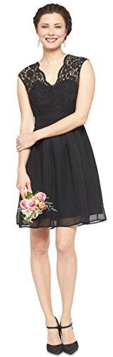 Buy black lace dress back cut out - 9