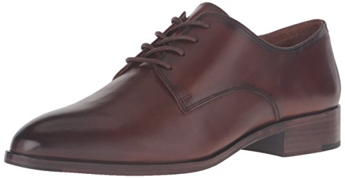 Calf Oxfords Brown (FRYE Women's Erica Oxford, Whiskey Smooth Veg Calf, 7.5 M US)